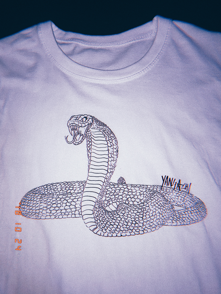 SNAKE T-SHIRT (SOLD OUT)